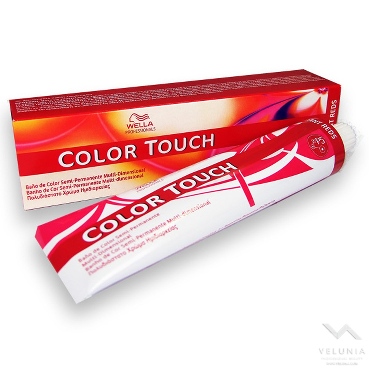 Wella Color Touch - 6/75 Biondo Scuro Sabbia Mogano 1