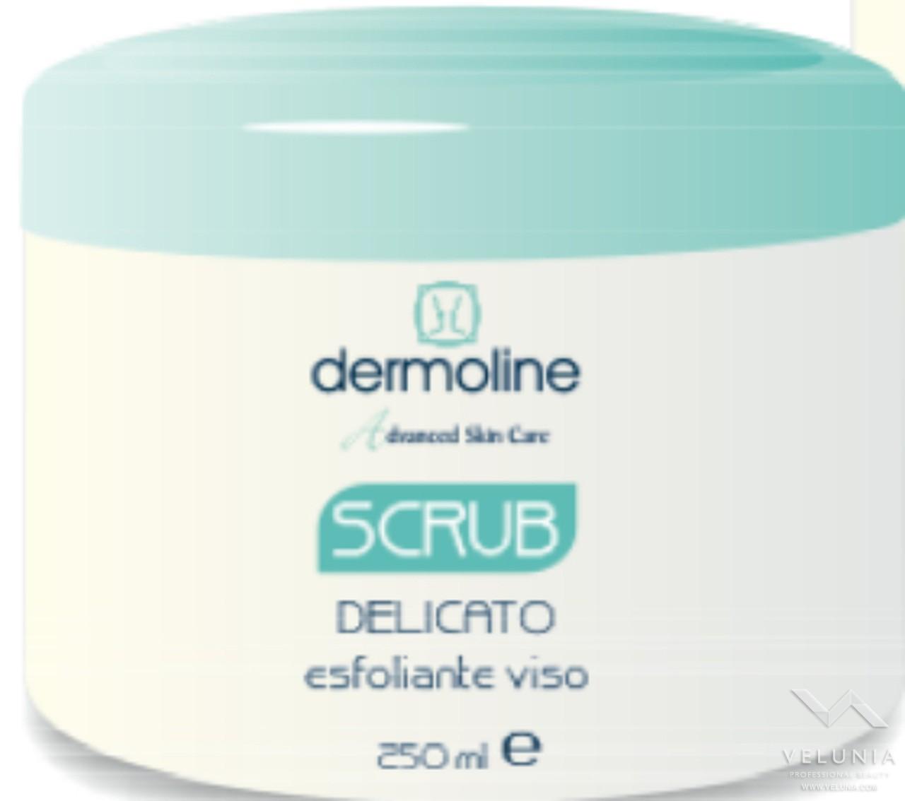 scrub delicato esfoliante viso 250ml a solo uso professionale 1