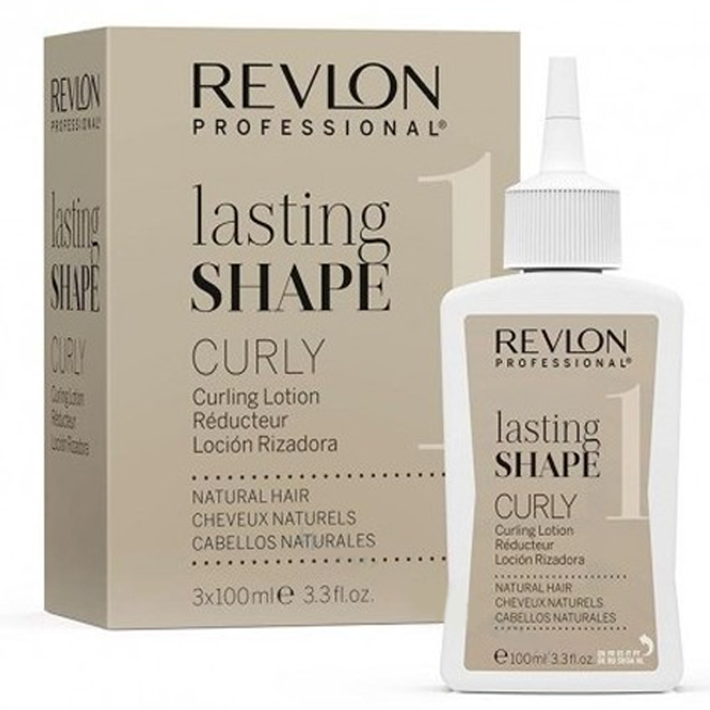 REVLON Lasting Shape Curly Curling Lotion 100ml Capelli Naturali 1