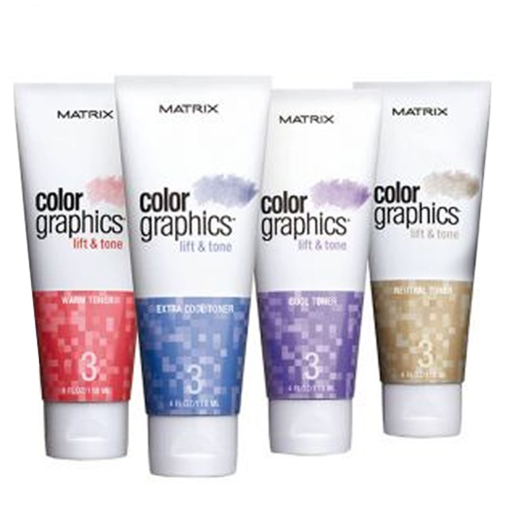 MATRIX Color Graphics Lift & Tone 118ml TUTTE LE TONALITA' ( - Extra Cool) 1