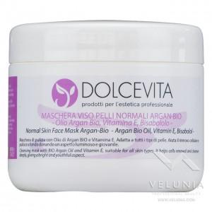 Maschera Viso Argan Bio - DolceVita - Vaso 250 ml.