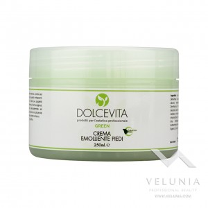 Crema Piedi Emolliente (Canfora Mentolo) - Dolcevita Green - Vaso 250 ml