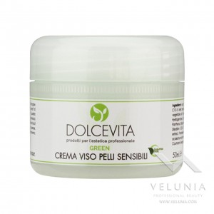 Crema Viso Lenitiva (pelle sensibile) - Dolcevita Green - Vaso 50 ml