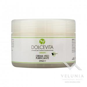 Crema Viso Purificante - Dolcevita Green - Vaso  250 ml