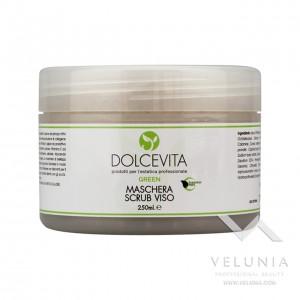Maschera Scrub Viso - Dolcevita Green - Vaso 250 ml