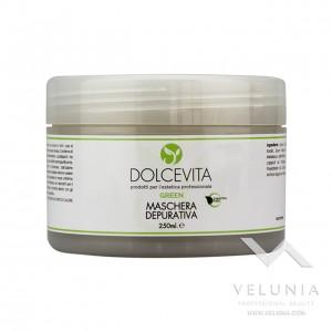 Maschera Viso Depurativa - Dolcevita Green - Vaso 250 ml