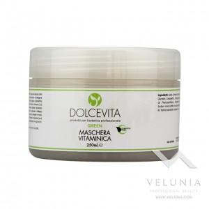 Maschera Viso Vitaminica - Dolcevita Green - Vaso 250 ml