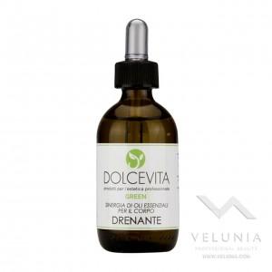 Sinergia Oli Essenziali Drenante - Dolcevita Green -  50 ml 1