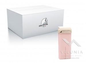 Rullo Ceretta Titanio Delicata Rosa - Liposolubile - Dolce Vita - Conf. 24