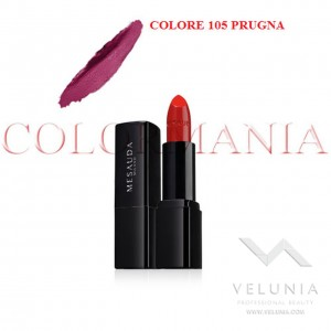 MESAUDA BACKSTAGE ROSSETTO LUCIDO BRILLANTE LUMINOSO  PROFESSIONALE COLORE 105 PRUGNA