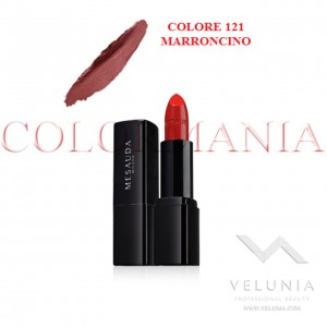 MESAUDA BACKSTAGE ROSSETTO LUCIDO BRILLANTE LUMINOSO  PROFESSIONALE COLORE 121 MARRONCINO