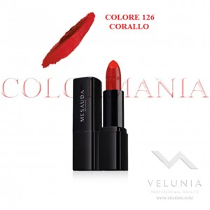 MESAUDA BACKSTAGE ROSSETTO LUCIDO BRILLANTE LUMINOSO  PROFESSIONALE COLORE 126 CORALLO