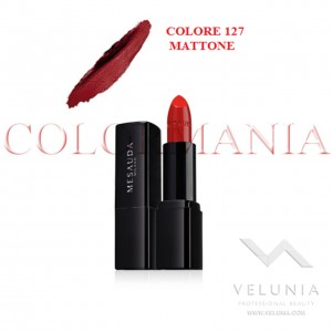 MESAUDA BACKSTAGE ROSSETTO LUCIDO BRILLANTE LUMINOSO  PROFESSIONALE COLORE 127 MATTONE