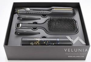 piastra per capelli ghd v goldmax kit piastra misura larga