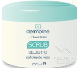 scrub delicato esfoliante viso 250ml a solo uso professionale