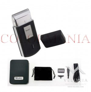 WAHL MOBILE SHAVER CORDLESS TRAVEL RASOIO DA VIAGGIO PROFESSIONALE BARBER SHOP