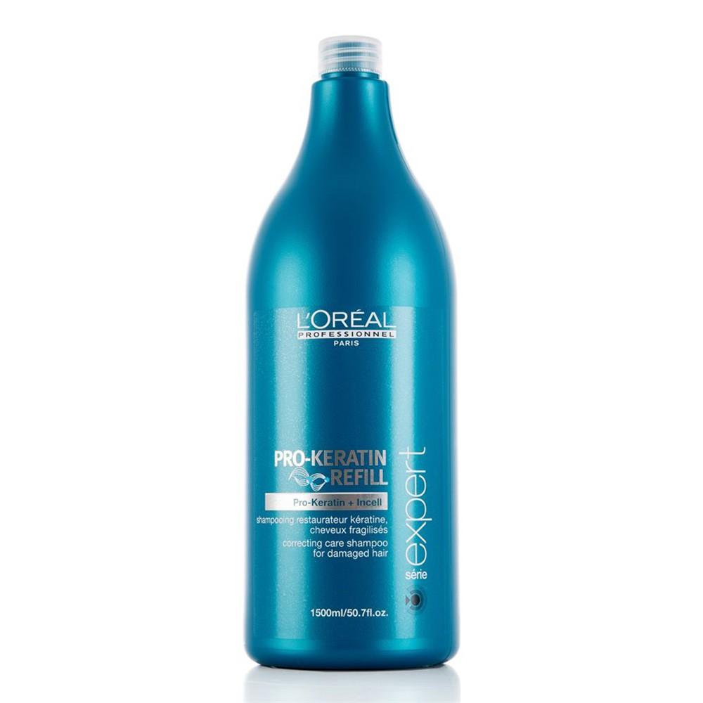 L'OREAL Expert Pro-Keratin Refill Shampoo 1500ml