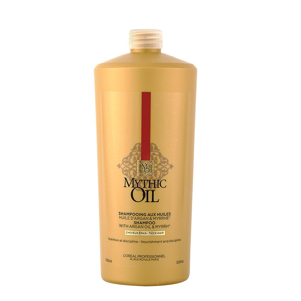 L'OREAL Mythic Oil Shampoo Capelli Spessi 1000ml