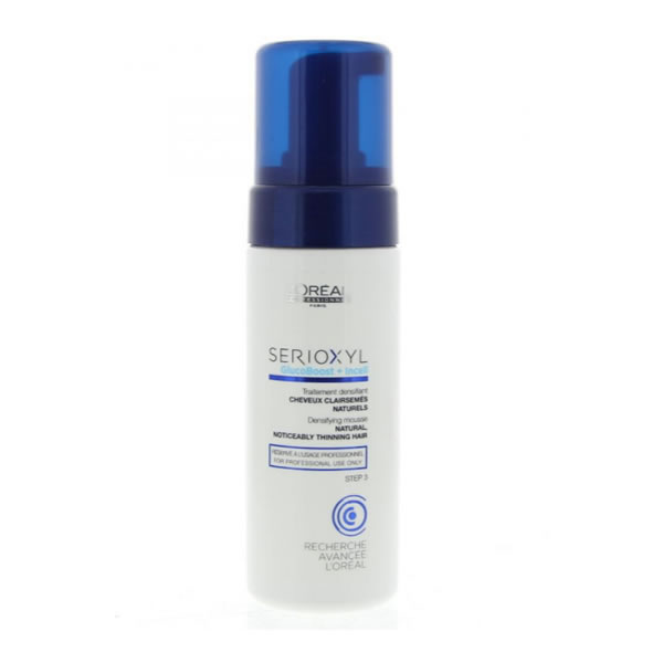 L'OREAL SERIOXYL Densifying Treatment Mousse 125ml STEP 3 Capelli Naturali