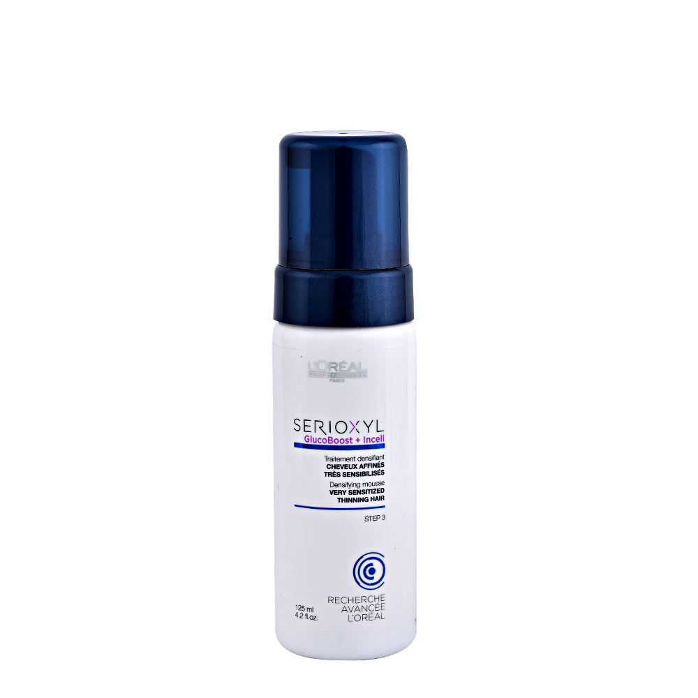 L'OREAL SERIOXYL Densifying Treatment Mousse 125ml STEP 3 Capelli Sensibilizzati