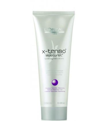 L'OREAL X-Tenso Moisturist Crème de Lissage 250ml Capelli Naturali Resistenti