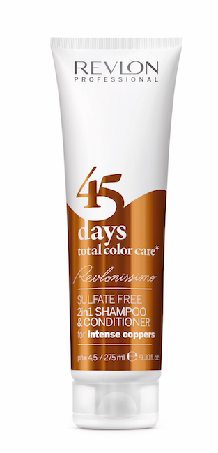 REVLON PROFESSIONAL Sulfate Free 2 In 1 Shampoo & Conditioner Instens Copper 275ml