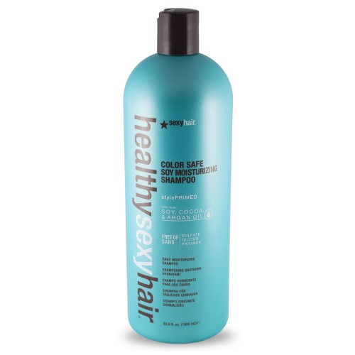SEXY HAIR HEALTHY Sexy Hair Color Safe Soy Moisturizing Shampoo 1000ml