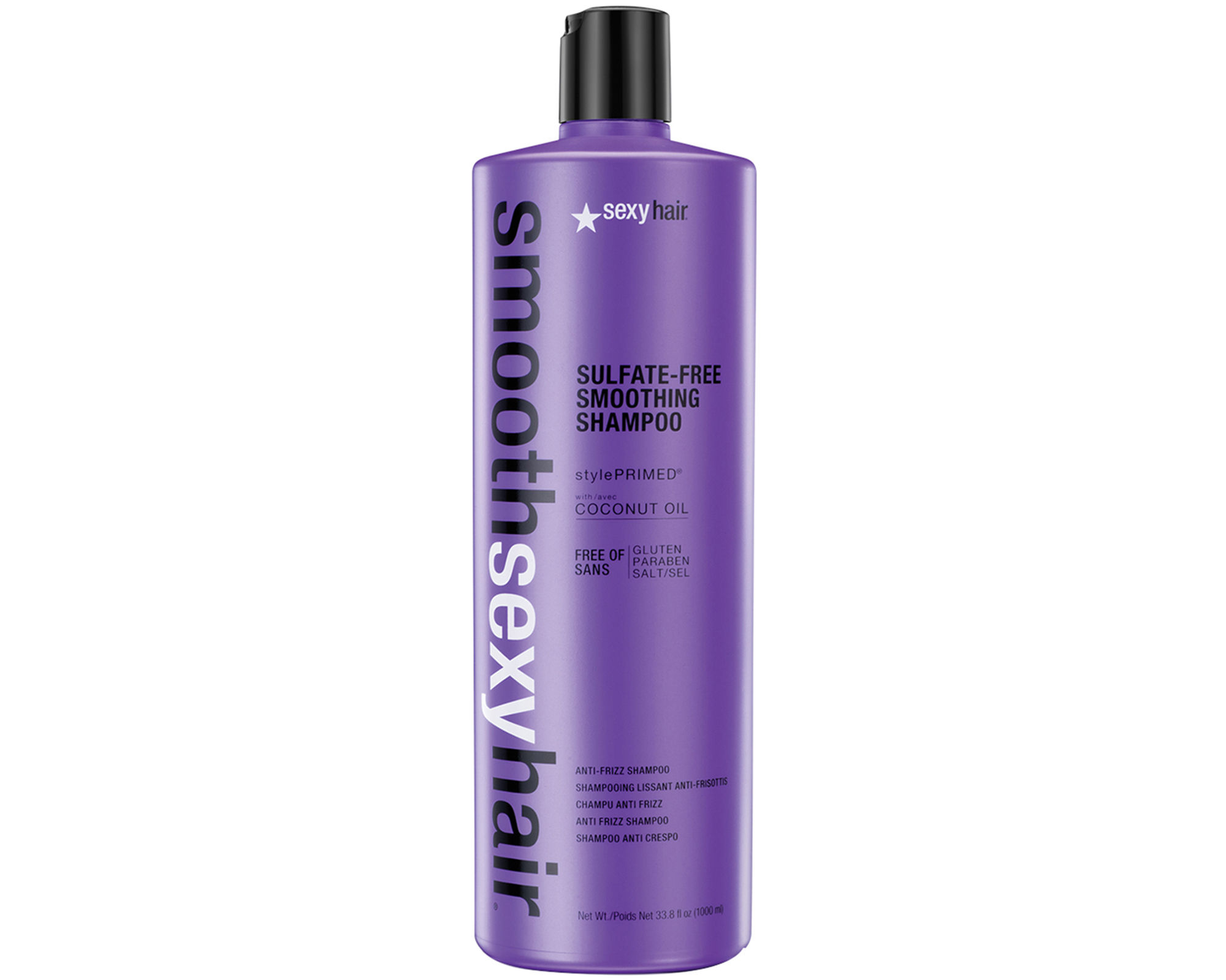 SEXY HAIR SMOOTH Sexy Hair Sulfate-Free Smoothing Shampoo 1000ml