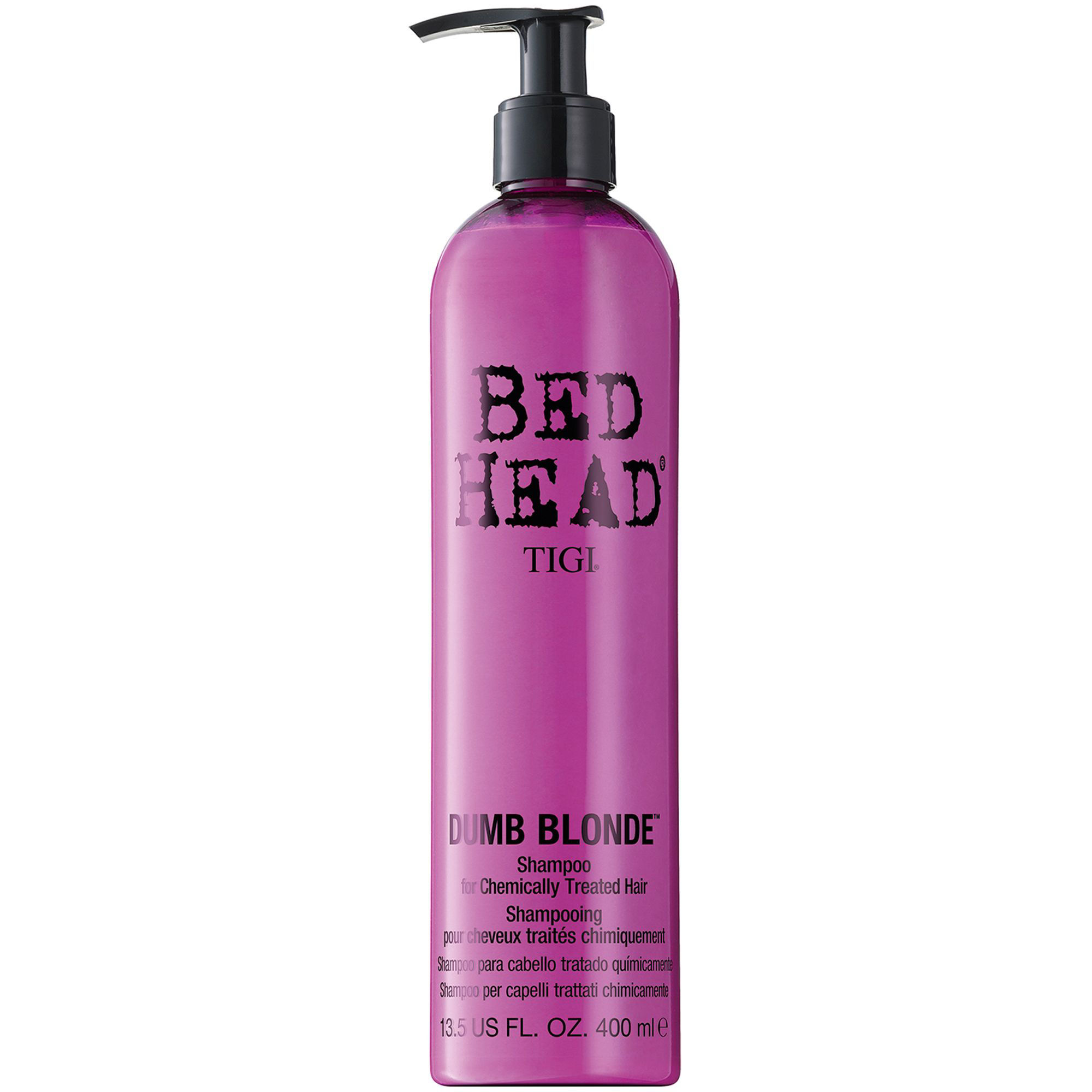 TIGI Dumb Blonde Treated Hair Shampoo 400ml