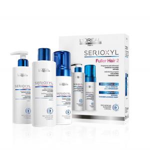 L'OREAL Serioxyl Fuller Hair 2 Kit Capelli Colorati