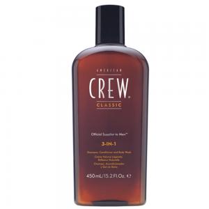 AMERICAN CREW 3 In 1 Shampoo - Conditioner - Body Wash 450ml