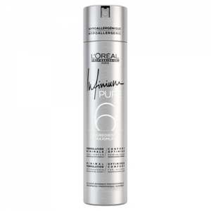 L'OREAL Infinium Pure 6 Hairspray Soft 300ml