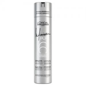 L'OREAL Infinium Pure 6 Hairspray Strong 500ml