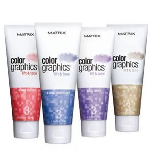 MATRIX Color Graphics Lift & Tone 118ml TUTTE LE TONALITA' ( - Extra Cool)