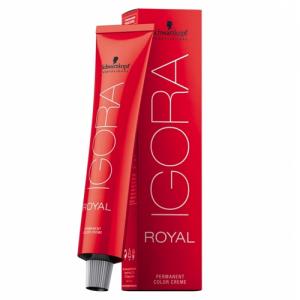 SCHWARZKOPF Igora Royal Color Creme 60ml TUTTE LE TONALITA'. ( - 8-10 PER BASE BIONDO CHIARO)