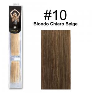 SOCAP Extension Basic 50/55cm 25 Ciocche 10 Biondo Chiaro Beige