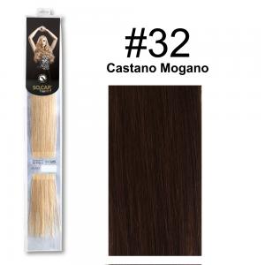 SOCAP Extension Basic 50/55cm 25 Ciocche 32 Castano Mogano