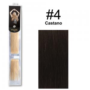 SOCAP Extension Basic Light 50/55cm 25 Ciocche 4 Castano