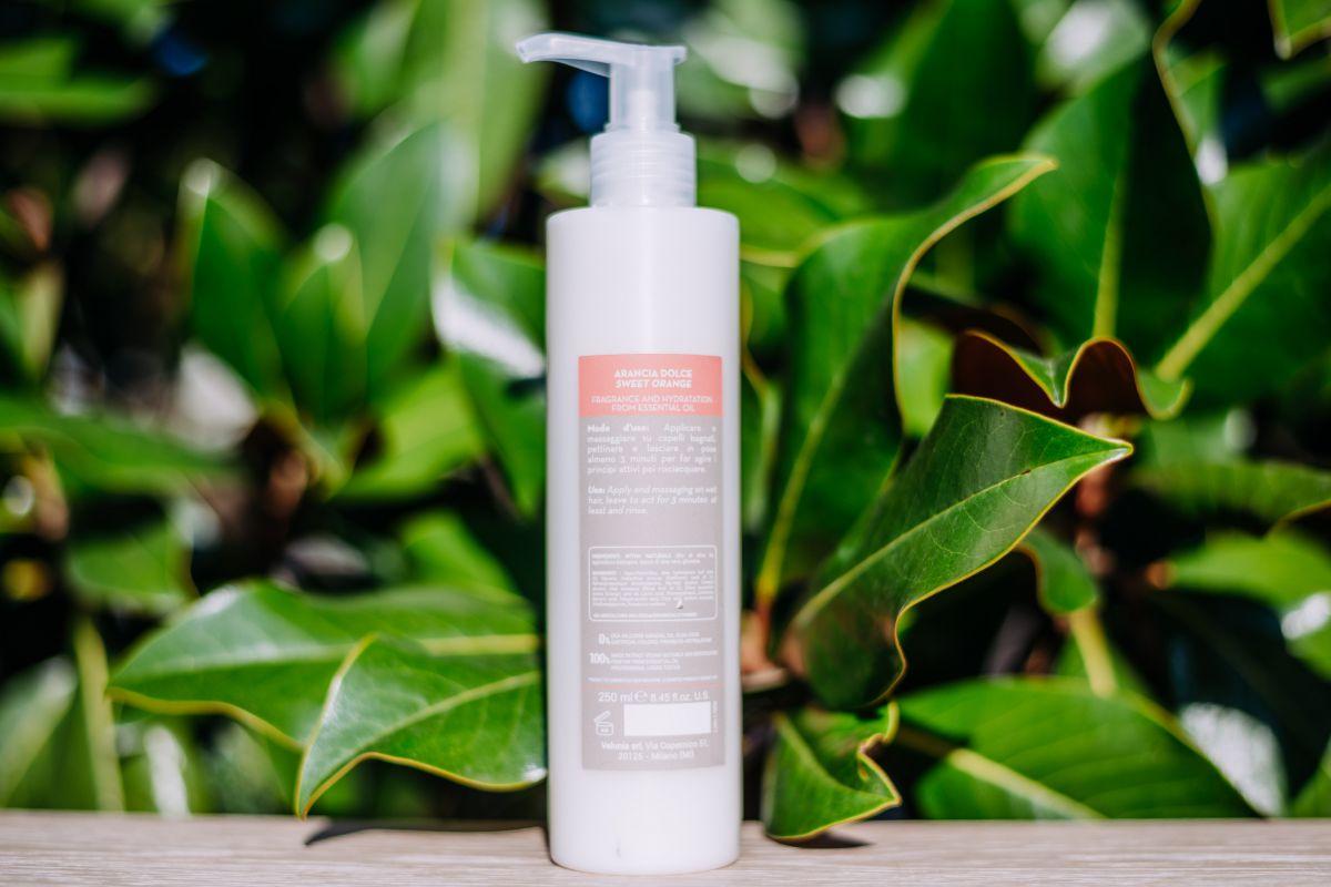 Maschera Biologica Frizzy per capelli crespi 250 ml