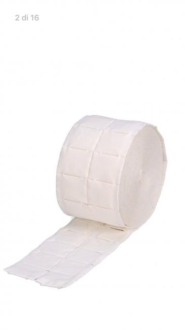 Cellulosa 2 rotoli da 500 pad - totale 1000 pezzi.