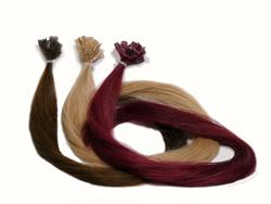 extension capelli naturali  colore Wine Red
