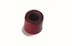 connettori per extension a freddo con rivestimento interno in silicone colore rosso