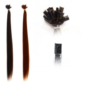 extension per capelli colore Wine Red