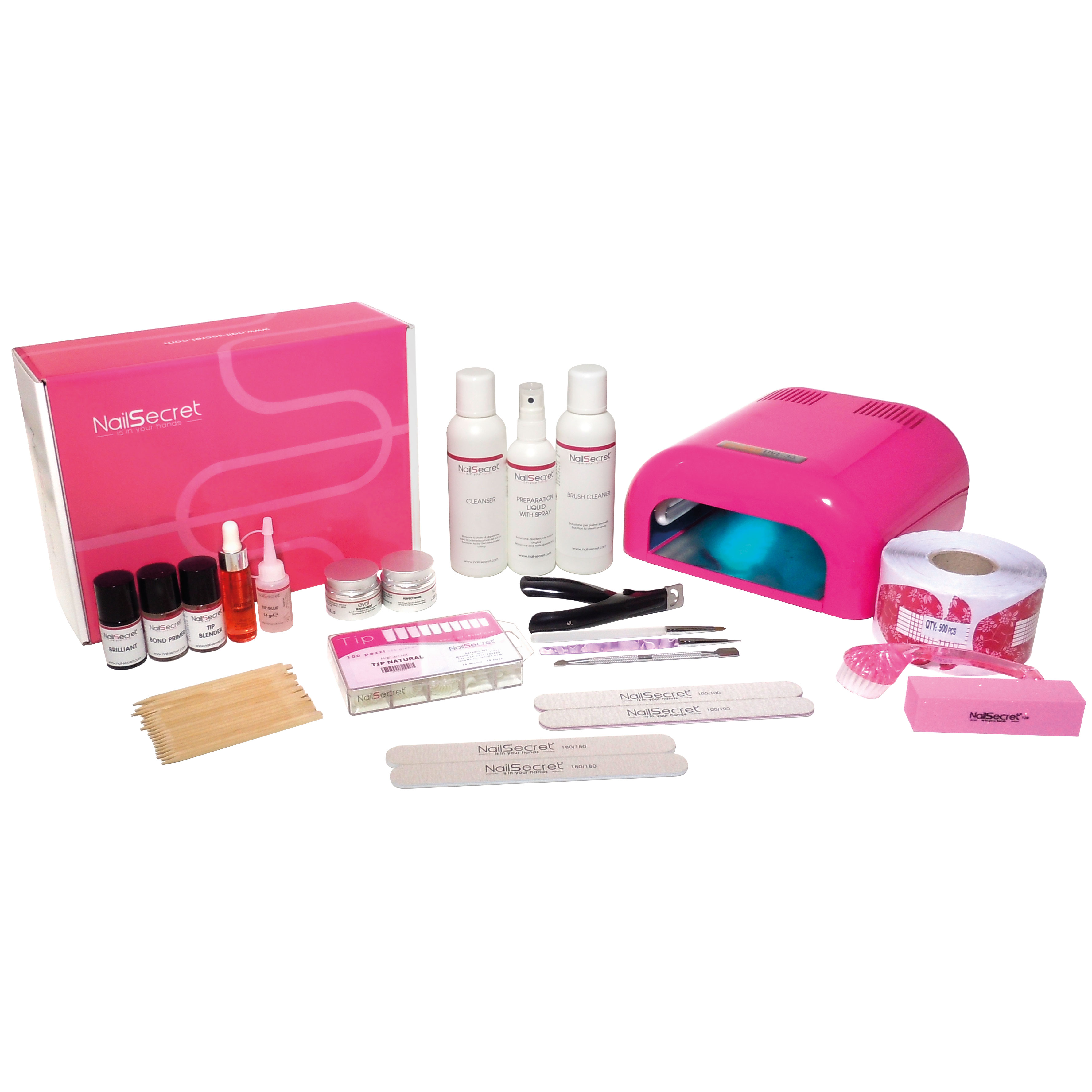 Starter kit gel uv