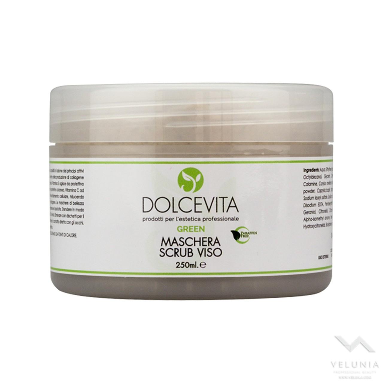 Maschera Scrub Viso - Dolcevita Green - Vaso 250 ml 1