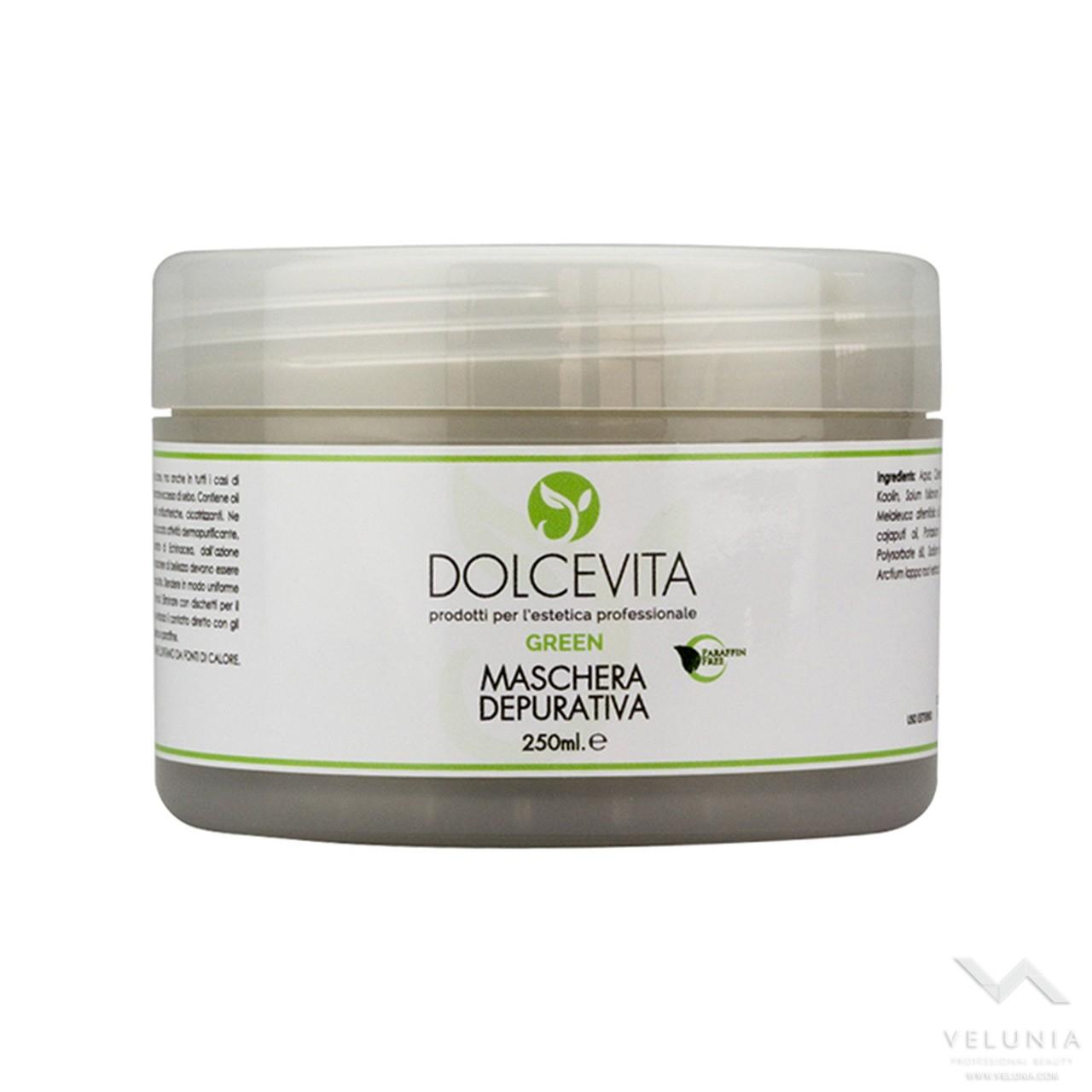 Maschera Viso Depurativa - Dolcevita Green - Vaso 250 ml 1
