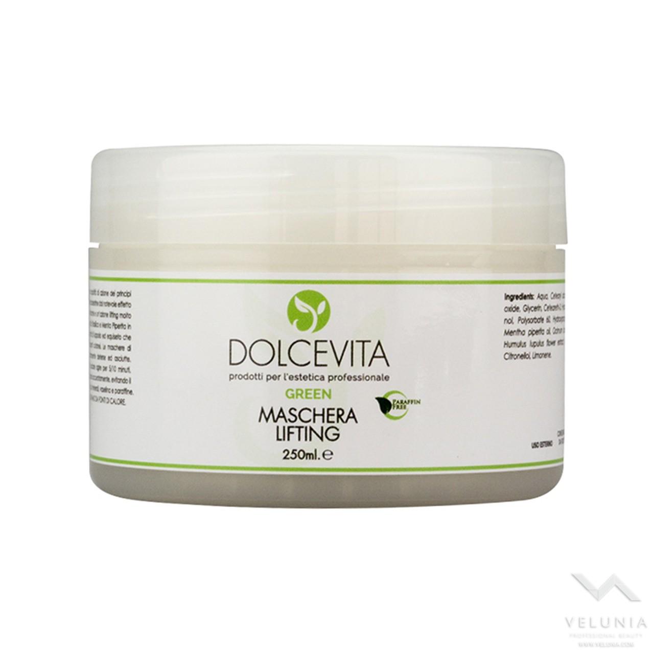 Maschera Viso Lifting - Dolcevita Green - Vaso 250 ml 1