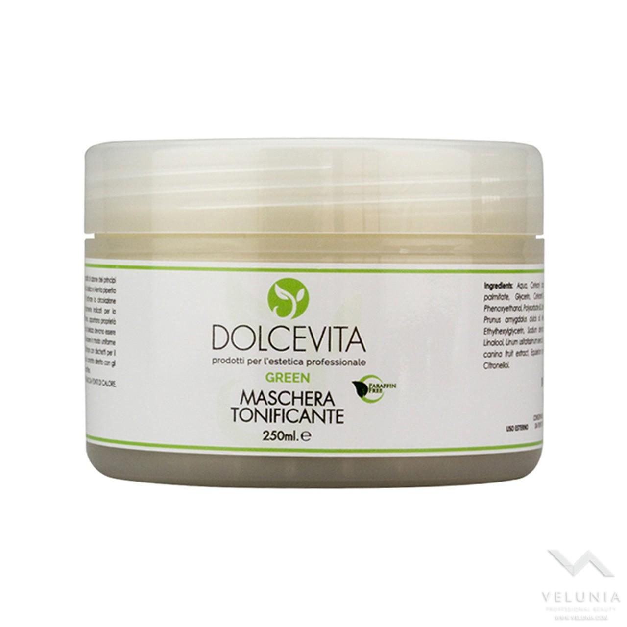 Maschera Viso Tonificante - Dolcevita Green - Vaso 250 ml 1