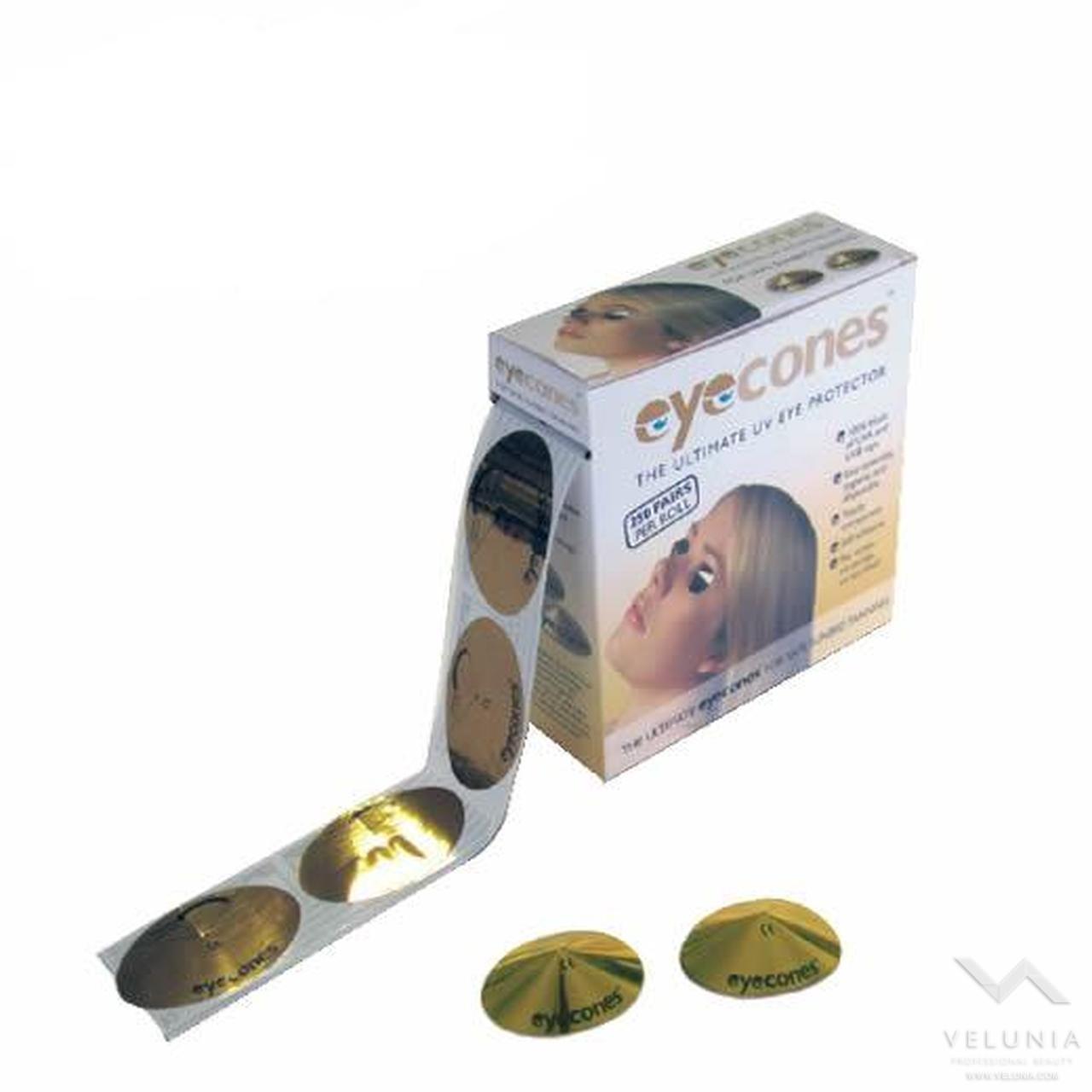 Occhialini Monouso Per Solarium Adesivi - Conf. 500 Pz 1