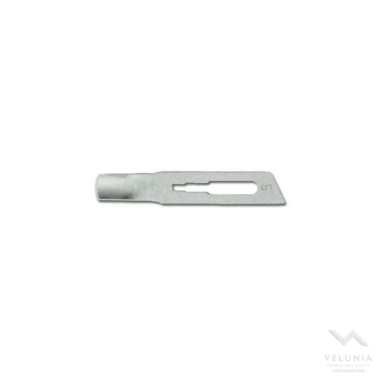 Lame Sgorbie  Sterili Inox - misura 5 mm - Scatola 12 pz. 1